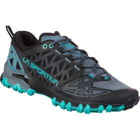 La Sportiva Bushido II Running Shoes Women slate/aqua